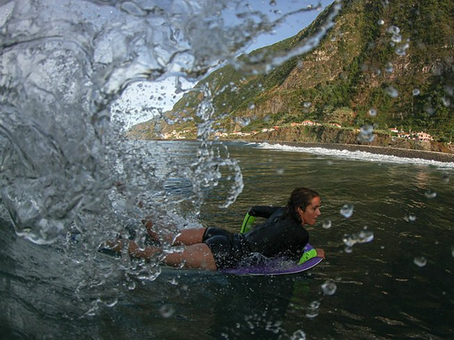 7 Days Thrilling Bodyboarding Camp in Funchal, Portugal