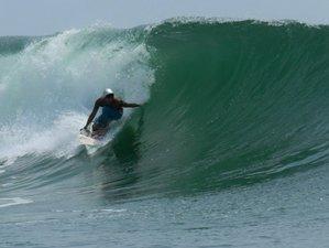 4 Tage Karibisches Paradies Segeltour und Fortgeschrittenen Surf Camp auf Bocas del Toro