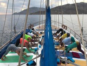 8 Tage Yoga und Aquafit Retreat mit Segelboot-Cruise an der Türkischen Ägäis