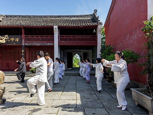 6 Months Martial Arts and Taoist Healthcare Training in China