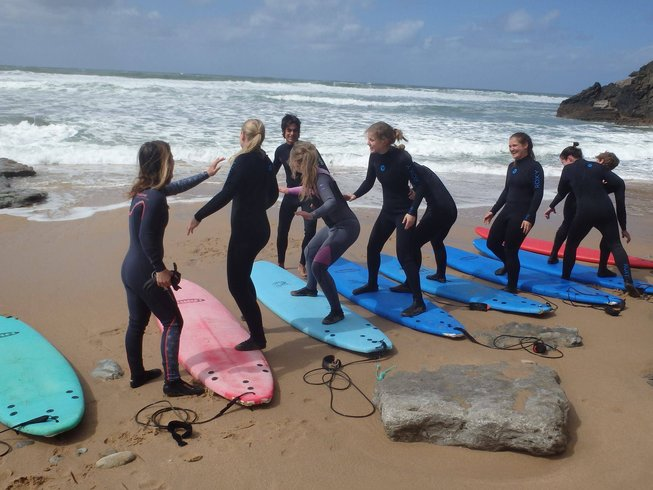 8 Days Surf and Jivamukti Yoga Retreat in Ericeira, Portugal