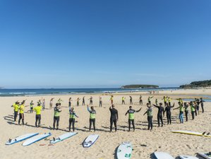 8 Days All Levels Wave Surf Camp in Somo, Cantabria, Spain