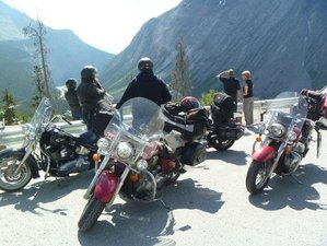 8 Day Fully-Guided Chinook Country Motorcycle Tour in South-Western Canada