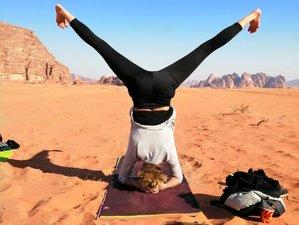 4 Days Re-Awaken Your Spirit of Adventure Yoga Retreat in Wadi Rum, Jordan