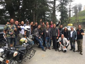 10 Day Delhi to Spiti Valley Guided Motorcycle Tour in India