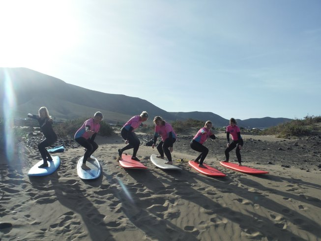8 Days Girls Only Surf and Yoga Retreat in Spain