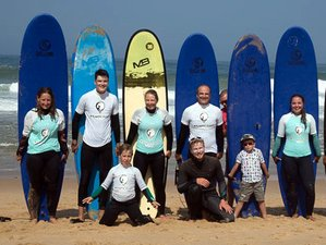 7 Day Family and Friends Fantastic Surf Camp in Praia Azul, Lisbon