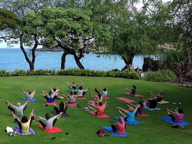 8 Tage Schwimmen mit Wilden Delfinen, Meditation und Yoga Retreat Hawaii, USA