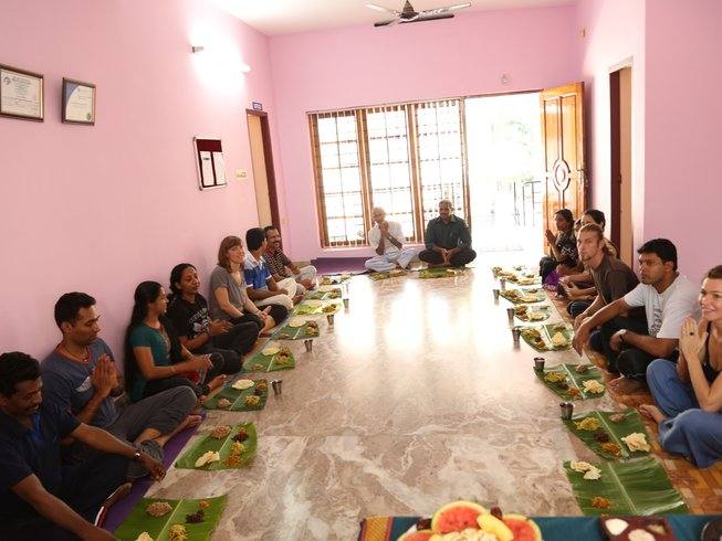 29 Days 200-hour Hatha Vinyasa YTT in Kerala