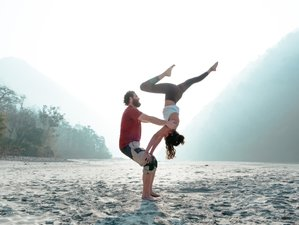 24 Day 200-Hour Multi Style Certified Yoga Teacher Training in Rishikesh + Free Sound Healing Class