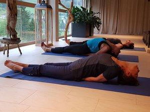 5 Tage Yoga im Luxus Hotel, Wandern im Sommer, mit 2000m² Wellness, in Vorarlberg, Österreich