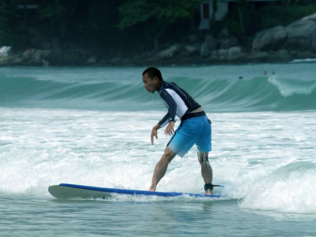 10 Days All Levels Surf Camp in Phuket, Thailand