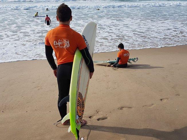 7 Days Unforgettable Surf Camp Costa da Caparica, Portugal