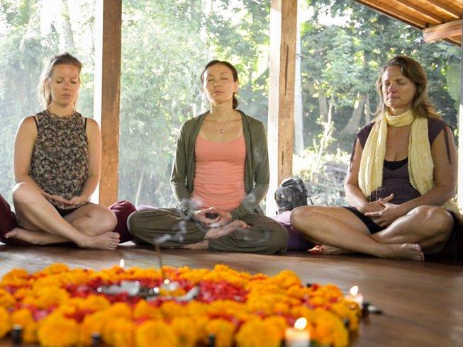 7 retiro de yoga de autotransformación para mujeres en Ubud, Indonesia