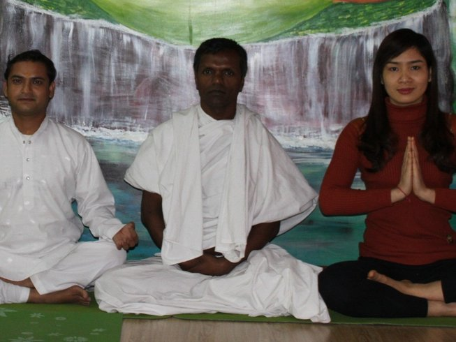 10 Days Meditation Yoga Beginner Course in Rishikesh, India