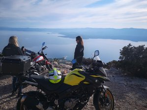 7 Day Guided Gastro and Sailing Motorcycle Tour in Croatia, Bosnia and Herzegovina, and Montenegro
