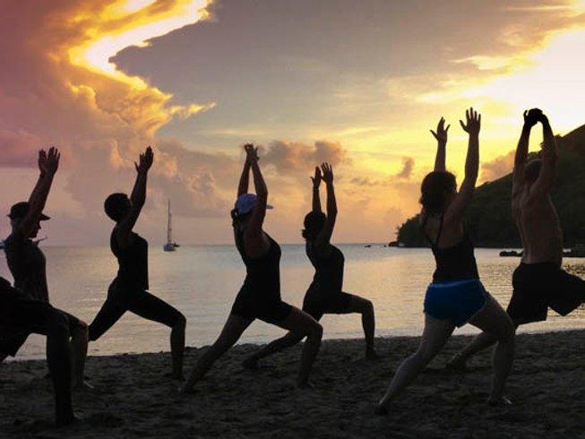 7 jours de stage de yoga et de méditation à Sainte-Lucie