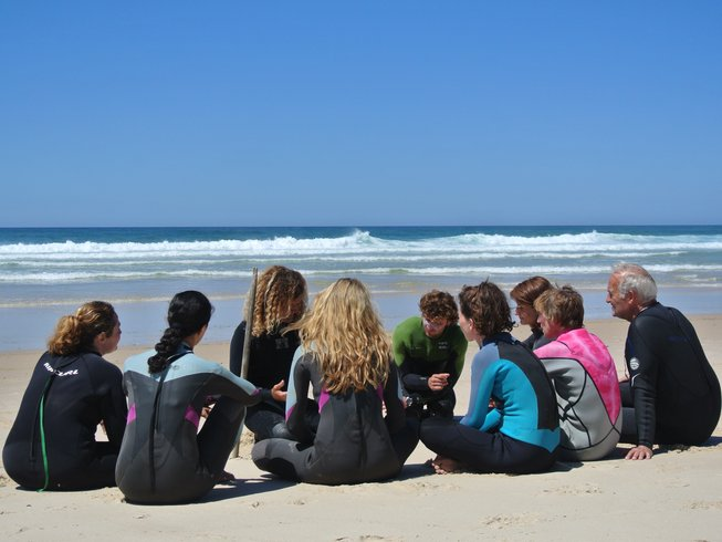 4 Days Yoga and Surf Retreat in Portugal
