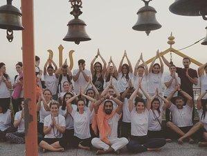 25 Day 200-Hour Yoga Teacher Training Certification in Rishikesh, India: Vinyasa, Hatha, & Ashtanga