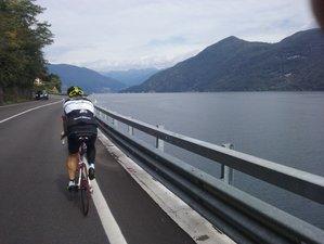 7 Days Splendid Lakes Bike Tour in Italy