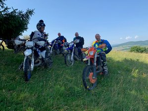 5 Days Guided Enduro Motorcycle Tour in Transylvania, Romania