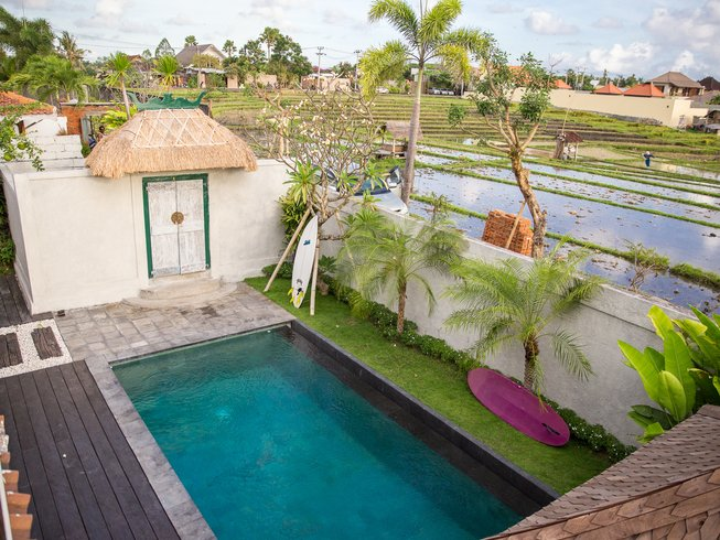 4 Days Surf and Yoga Retreat in Bali, Indonesia
