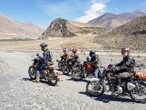 7 Day Wonderful Kathmandu Guided Motorbike Tour Nepal