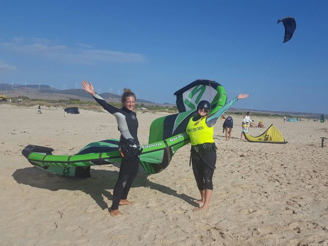 8 Days Kitesurfing and Yoga Retreat in Spain