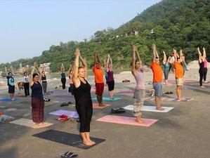58 días profesorado de yoga de 500 horas en Rishikesh, India