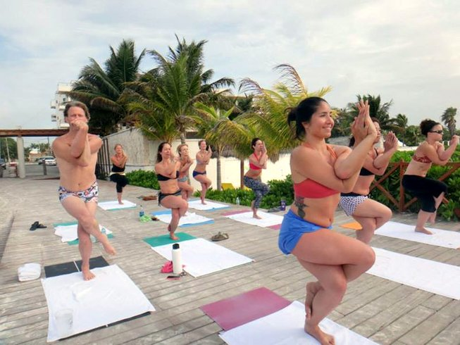 7 Days Bikram Yoga and Hot Pilates Retreat in Mexico