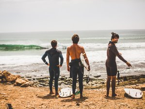 8 Days Surfari Camp  in Anza, Agadir, Morocco