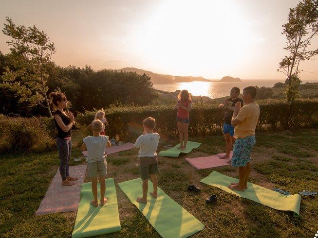 8 Tage Surf, Meditation und Yoga Retreat in Montalivet, Frankreich