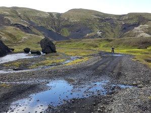 3 Day Adventurous Guided Motorcycle Tour in Iceland