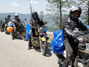 9 Day Guided Motorcycle Tour in Chopta Chandrashilla