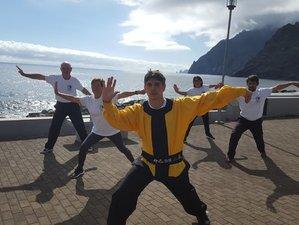 6 jours en stage de yoga, chi gong, Tai chi, massage et repas bio sur l'île de Madère