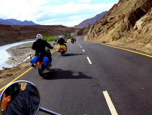13 Day The Roof of the World Guided Motorcycle Tour in Leh