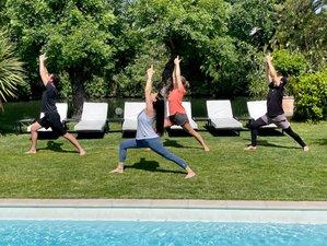 7 jours en stage de luxe de yoga, boxing et nutrition à Villeneuve-Loubet, Côte d'Azur