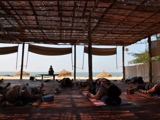 10 Days Relaxing Yoga Holiday in South Goa, India