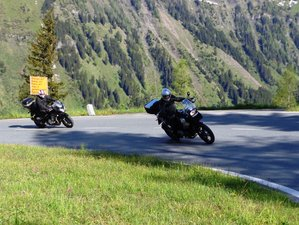 5 Day On the Mountains Get-Set-Go Self-Guided Motorcycle Holiday in Kaprun,Salzburg