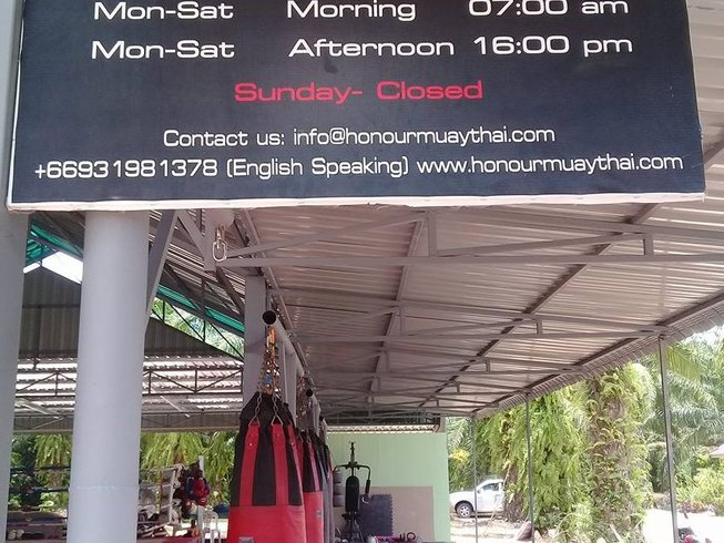 1 Month Affordable Muay Thai Training and Accommodation in Ao Nang, Thailand