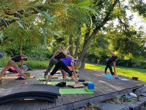 6 jours en stage de yoga, jeûne et randonnées à Génolhac, Cévennes Gardoises