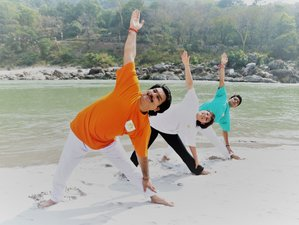 27 Days 200-Hour Yoga Teacher Training in Rishikesh, India