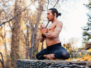 8 Day Mediterranean Moon: Ashtanga Therapeutics Crete Yoga Retreat with Joey Paz and Bryce Delbridge