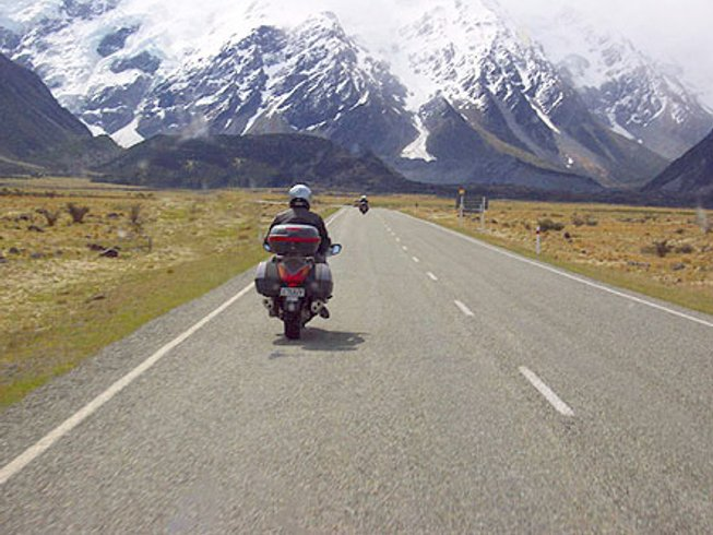 14 Days Guided Motorcycle Tour in South Island