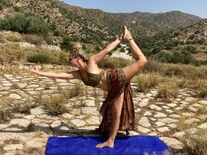 6 Day Bohemian Evergreen Restorative Yoga Holiday for Group in Lubrin, Andalusia