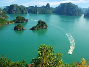 10 Days Sightseeing, Temple Visit, and Cruise Tour in Vietnam