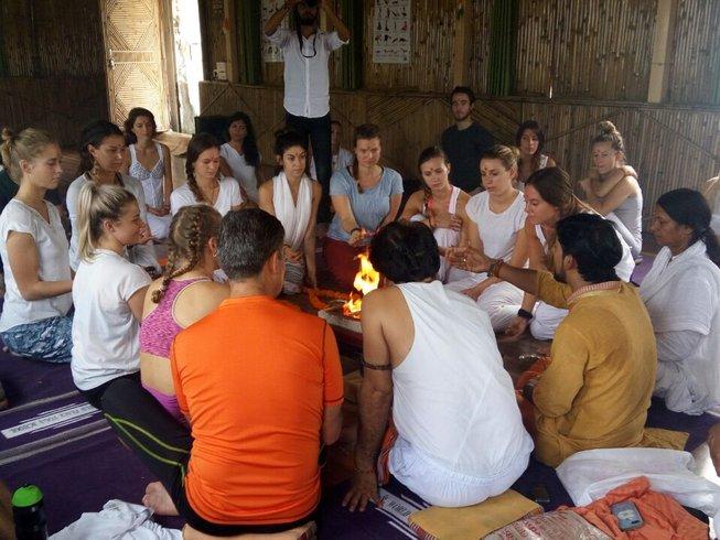 28 días profesorado de yoga Ashtanga de 200 horas en Rishikesh, India