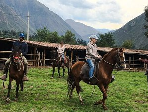 3 Day Sacred Valley Horseback Riding Holiday in Urubamba, Cusco