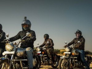 10 Day The Desert Run Guided Motorcycle Tour in Rajasthan