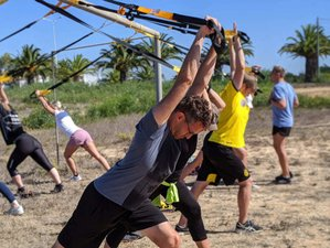 8 Day Fitness Training and Boot Camp Vacation in Praia da Arrifana, Aljezur